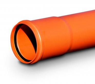 KG - rura z uszczelką DIN-LOCK wydłużony kielich