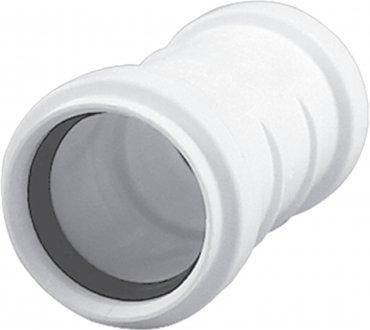 HTplus - mufy przesuwne białe