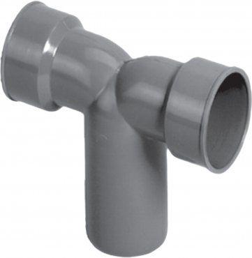 HTplus - złączka kolanowa podwójna do rur metalowych