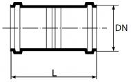 złączka dwukielichowa