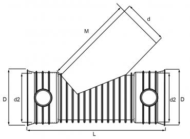 trójnik mc-kg 45